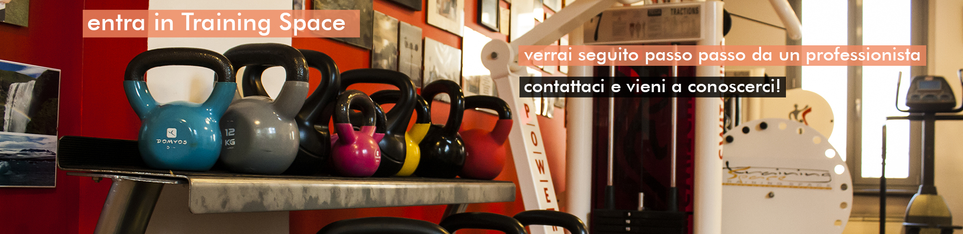 training space palestra personal trainer