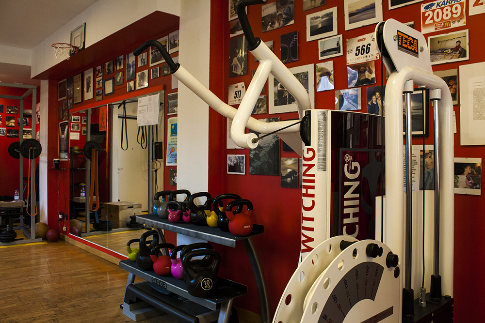palestra training space in centro a pavia