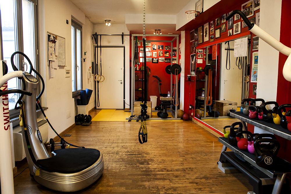 palestra training space personal trainer esercizi